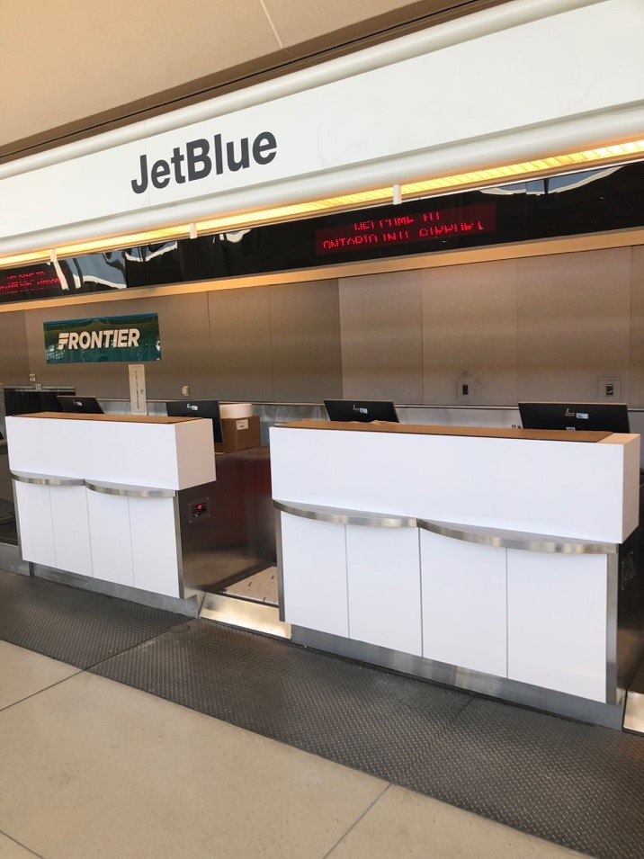 Jetblue Airways Station Opening G1 Facility Services